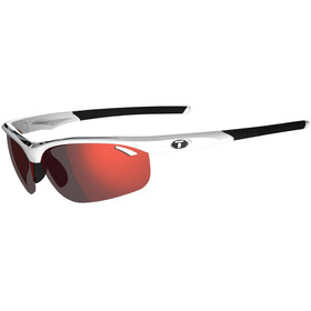 Tifosi Veloce Glasses white/black - clarion red/AC red/clear